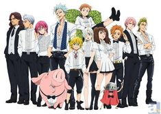 Seven Deadly Sins manga is set to end its last installment. The manga is getting close to its climax as announced by Oricon news. Anime Seven Deadly Sins, 7 Deadly Sins, Seven Deadly Sins Tattoo, Elizabeth Seven Deadly Sins, Manga Anime, Film Anime, Otaku Anime, Anime Art, Weekly Shonen Magazine