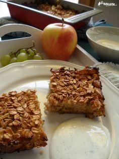 apple + oatmeal