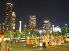 Atlanta. Catch a Braves game, and hang out in Centennial Olympic Park.