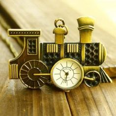 Train Pocket Watch