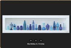 Blue Bottles Quilling - by: Yeon Pas - Quilling Park