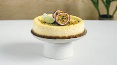 Bakt ostekake med pasjonsfrukt | Oppskrift