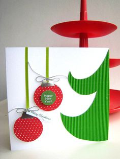Christmas Greeting Card Handmade by elenasaglfe on Etsy