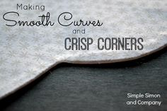 How to sew Curves and Corners Title