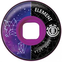Element Skateboards Element Constella Coyote Wheels 52mm 101a (set of 4)