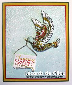 To highlight the superb graphics of the dove I am appealing to my boyfriend .... Crystal Effects ... ..