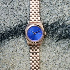The Small Time Teller watch, featured in the new arrivals for summer from Nixon