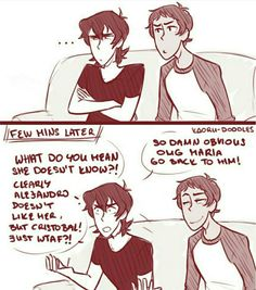 2/2 Keith is invested. Lace is smug af