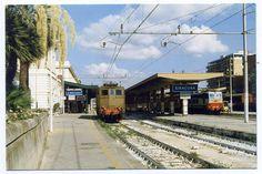 Siracusa's train station.  Siracusa, Sicily, Italy.