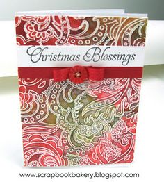 Cards that Care by Heather Ruwe at Scrapbook Bakery Blog - cards were made for the Cards that Care Card Drive that sends cards to the elderly living in nursing homes