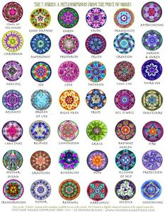 Mandalas speak to the soul. They are art, yet they are more than art, the same way we are each our selves, and yet we …: