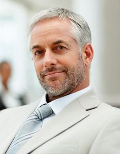 Short Hairstyles For Older Men With Thin Hair Pshn