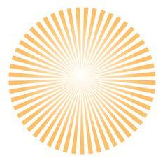 make vector sun rays in Ai Adobe illustrator