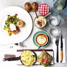 | The Hardware Société | @hardwaresociete Credit @leeyunheegd  #breakfast #melbourne #food #melbournefood #breakfastinmelbourne #autumn  #foodblog #instafood #coffee #melbournebreakfastdiary