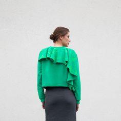 FLÖW BADMIN. Limited edition 1/5. Handmade sweatshirt. ___ more at... www.festelastore.com