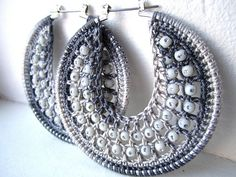 crochet earrings                                                   GAYLA WILLIAMS HAVE YOU TRIED THIS ONE YET?????