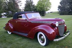 Photographs of the 1937 Chrysler Imperial Series Convertible Coupe. An image gallery of the Chrysler Cars, Chrysler 300, Chrysler Convertible, Vintage Cars, Antique Cars, Chrysler Imperial, Classy Cars, Cabriolet, Car Car