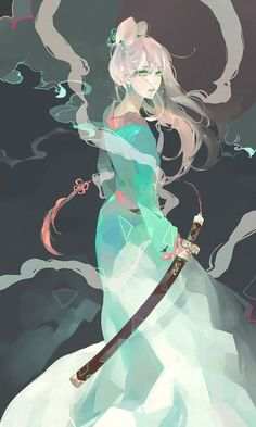 From Kaytseki geisha sword katana samouraï