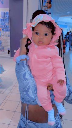 Cute Mixed Babies, Cute Black Babies, Beautiful Black Babies, Cute Little Baby, Pretty Baby, Beautiful Children, Cute Babies, Mix Baby Girl, Baby Momma