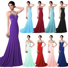 Stock48 Free Shipping Under $100 Long Black Lace Modest Prom ...
