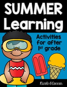 In this packet, you will find 50 days worth of summer learning activities for literacy, math, social studies, science, and more! This set was designed for students who have just completed first grade.Activities include:- Language Arts: using reading strategies, sight word rainbow writing, sight word graphing, word family brainstorms, compound word practice- Writing: poetry, letters, opinion writing, reader responses, writing about summer activities, nonfiction writing- Math: addition…