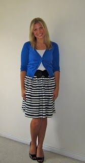 Love this blog about cute teacher clothes... yes, we can and should dress cute!  :)
