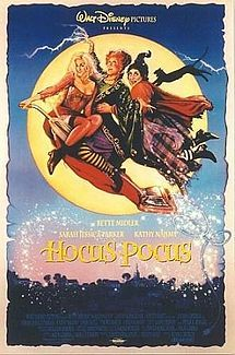 Hocus Pocus is a 1993 Halloween-themed fantasy/comedy film that was released by Disney and directed by Kenny Ortega. The film tells the story of a Halloween-hating teenager named Max, who inadvertently resurrects three witches, The Sanderson Sisters, from their temporary death and must risk his life to protect his sister and defeat them with the help of a classmate crush, a friendly zombie, and an immortal black cat.