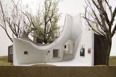 Roku museum by Hiroshi Nakamura & NAP  #architecture #museum #building