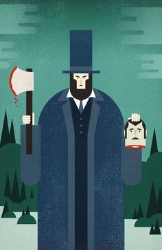 Poster | VAMPIRE HUNTER von Chase Kunz | more posters at http://moreposter.de