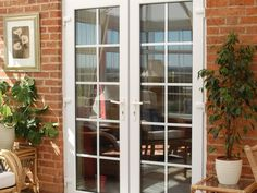 Eurocell supply the classic aesthetic of French doors in a range of styles and finishes, with the construction benefits of UPVC. Browse our range of French doors today. French Door Windows, Upvc French Doors, French Doors Patio, Patio Doors, Windows And Doors, French Patio, Entrance Doors, Front Doors, Aluminium Doors