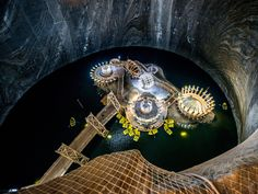 Salina Turda from above