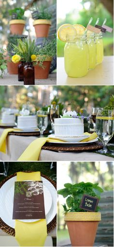 Love this theme for a ladies luncheon