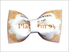 And this bow tie is just the ticket. | 27 Things You Need To Have A Classy AF Harry Potter Wedding