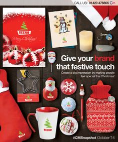 Promotional Christmas Merchandise! Click the following link to view products > http://www.completemerchandise.co.uk/promotional-seasonal-products/promotional-christmas-gifts.html?___SID=U