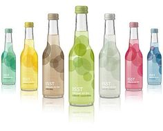 The simple packaging with smooth, clean circles really makes it look light and refreshing.