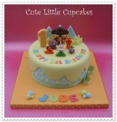 Hey Duggee themed Birthday cake x: 1st Birthday Cakes, 2nd Birthday Parties, Birthday Fun, Cbeebies Cake, Party Cakes, Party Party, Dog Cakes, Small Cake, Celebration Cakes