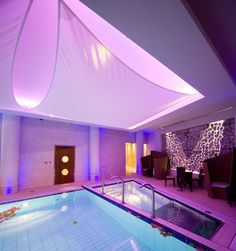 The spa at The Royal Yacht Hotel
