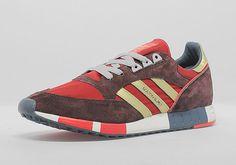adidas Originals Boston Super - University Red - Metallic Gold - SneakerNews.com