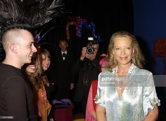Princess Michael of Kent wearing Charles and Patricia Lester at the opening of the Fashion and Textile Museum