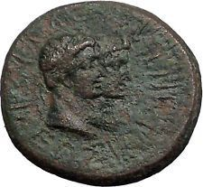 Augustus & Rhoemetalkes Client King of Thrace 11BC Ancient Roman Coin i55548 https://trustedmedievalcoins.wordpress.com/2016/05/22/augustus-rhoemetalkes-client-king-of-thrace-11bc-ancient-roman-coin-i55548/