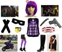 """Hit Girl Costume Ideas"" by ashleah on Polyvore                                                                                                                                                                                 More"