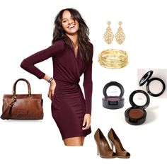 """Work to happy hour"" by adaugherty on Polyvore"