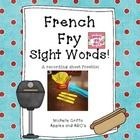 This is a simple recording sheet to use for a sight word activity that I did on my blog making DIY french fries out of popsicle sticks!    Come visit...