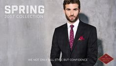 The Suit Shop Co. offers suits for weddings, business or any social event. Made To Measure Suits, Suit Shop, Social Events, Wedding Suits, Custom Shirts, Ready To Wear, Suit Jacket, Menswear, How To Wear