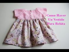 costura se llama costura francesa.  4 – Hacer una costura Knit Baby Dress, Crochet Baby Shoes, Knit Crochet, Knitting For Kids, Baby Knitting, Sewing Patterns For Kids, Baby Sweaters, Dress Skirt, Couture