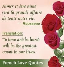 12 Random And Beautiful French Love Quotes With English ...