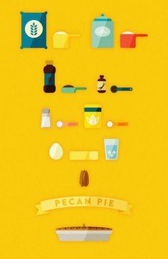 Pecan Pie Illustration - Andrea Nguyen