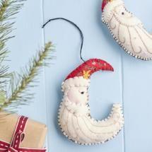 Nordic Santa Moon Decoration