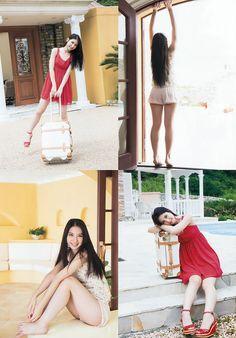 Natsumi Matsuoka Natsu no Odekake on Young Animal Magazine Animal Magazines, Japan Today, Young Animal, Japanese Models, Ballet Skirt, Lingerie, Actresses, Bikinis, Skirts