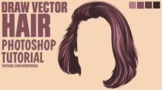 Draw Vector Hair Photoshop Tutorial  In this tutorials i will show you how to Make Vector Hair using Adobe Photoshop CC 2015.5  Support us by clicking on Like and Share Buttons, see you in the next tutorials!